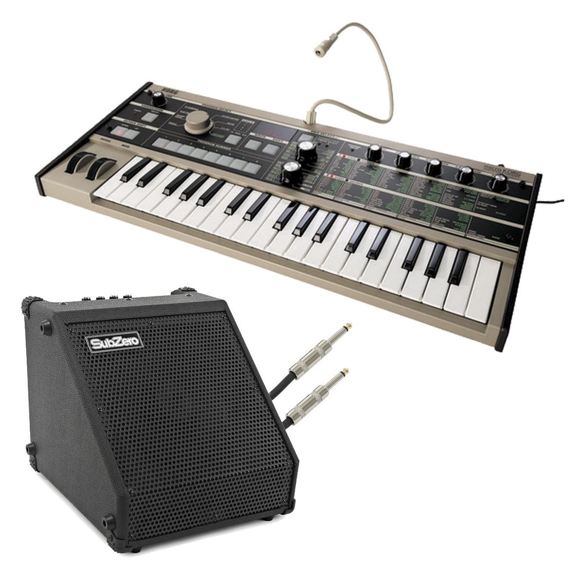 Image of Korg microKORG Synthesizer & SubZero DR-30 Amp
