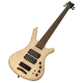 Warwick Corvette $$ 5-String Bass, Swamp Ash, Natural Oil Finish