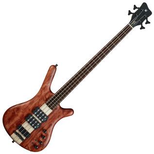 Warwick Corvette $$ 4-String Bass Guitar, Bubinga, Natural Oil Finish