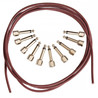 Evidence Audio Patch Kit 10 SIS Plugs with 8ft Monorail Cable