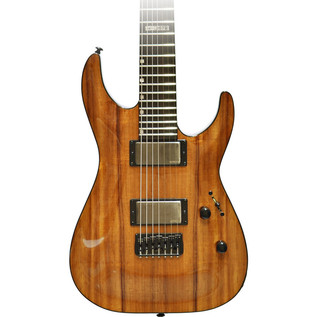 ESP LTD H-1007B Deluxe Koa Wood Top, Natural