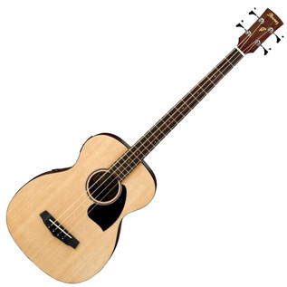 Ibanez PCBE12 Electro Acoustic Bass Guitar, Open Pore Natural
