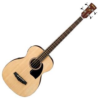 Ibanez PCBE12 Electro Acoustic Bass Guitar, Open Pore Natural