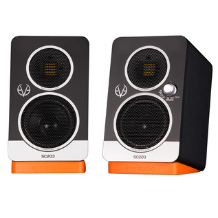 Eve Audio SC203 2-Way 3'' Active Monitors, Pair