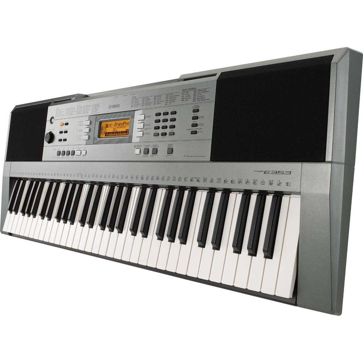 Yamaha psr e353 portable keyboard nearly new at for Cheap yamaha keyboards