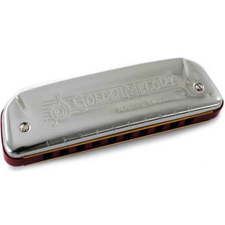 Hohner M542016X Golden Melody Classic Harmonica, C