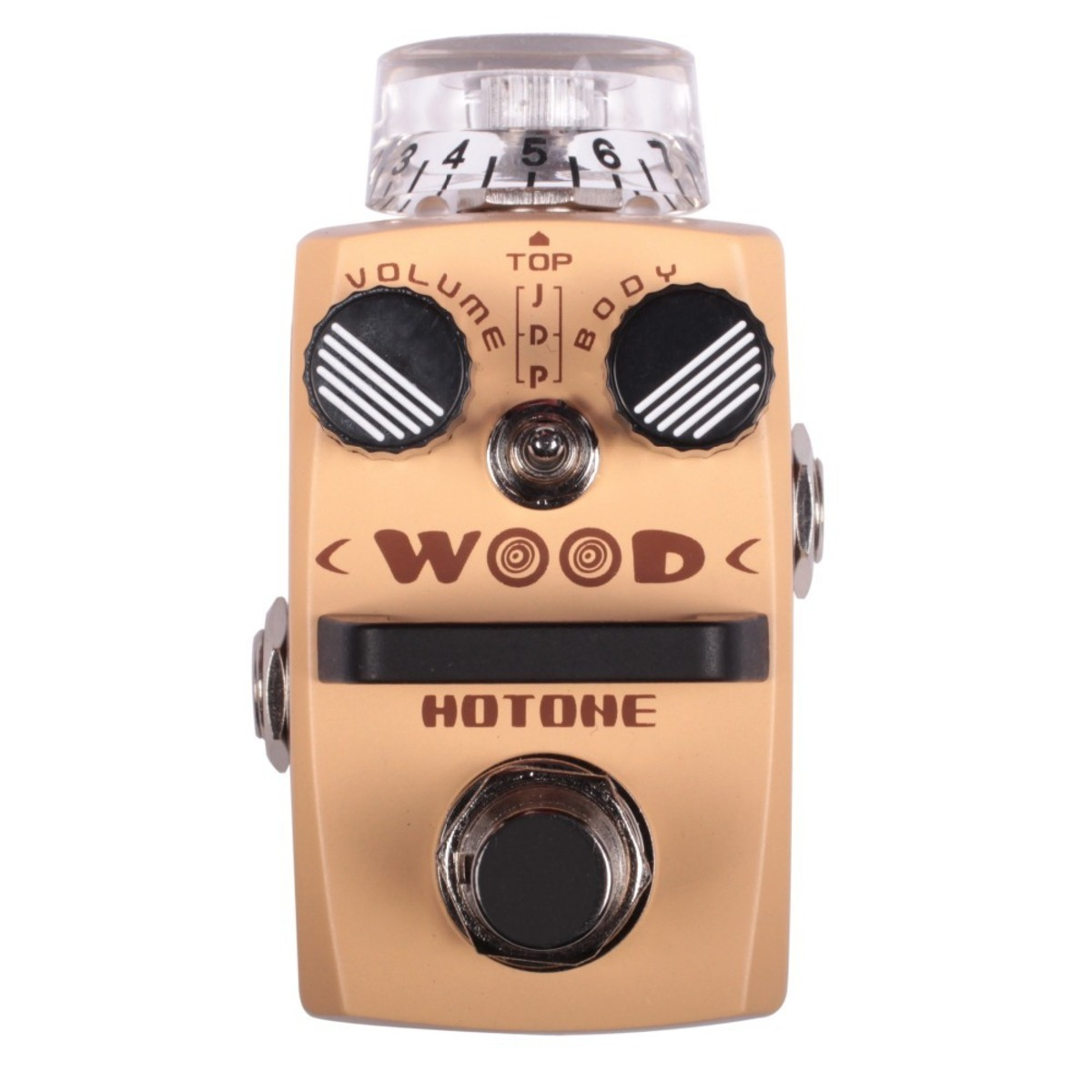Image of Hotone WOOD Acoustic Guitar Simulator Pedal