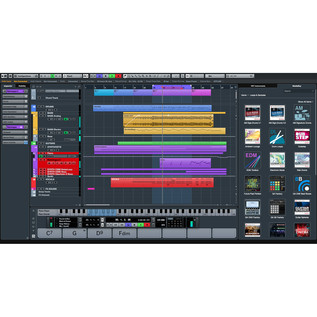 Cubase Pro Project Window