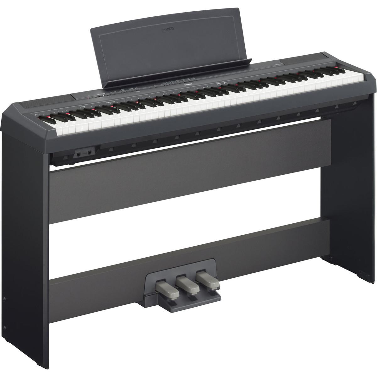 yamaha p 115 digital piano black ex demo at