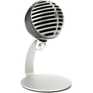 Shure MV5 Digital Condenser Mic Mac, PC, iPhone, iPod, iPad - Silver