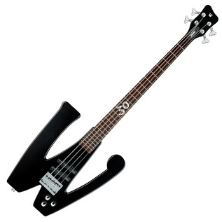 Warwick Rockbass The W-Bass 4-String Bass, Black Satin