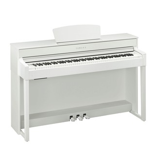 Yamaha Clavinova CLP535 Digital Piano, White Package Deal