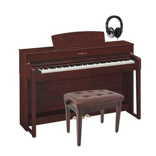 Yamaha Clavinova CLP545 Digital Piano, Mahogany Package Deal