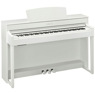 Yamaha Clavinova CLP545 Digital Piano, White Package Deal