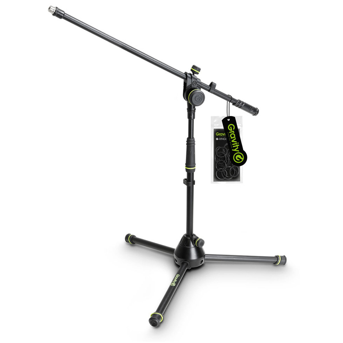 Image of Gravity GMS4221B Short Microphone Stand with Boom