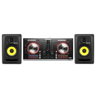 Numark MixTrack Pro III DJ with KRK Rokit RP5 G3