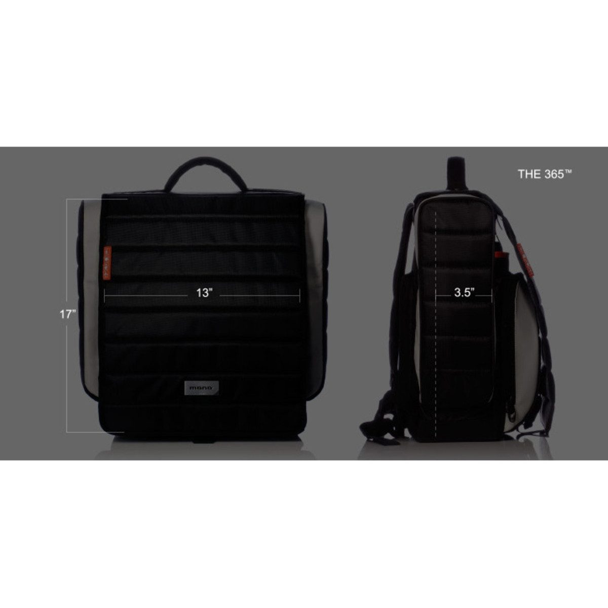 disc mono 365 dj bag black at gear4music