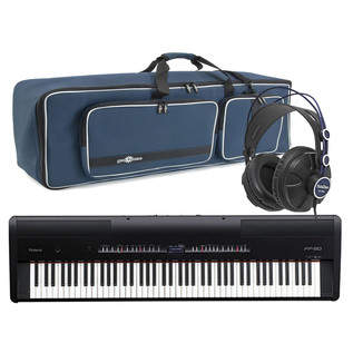 Roland FP-80 SuperNATURAL Piano with Deluxe Bag and Headphones