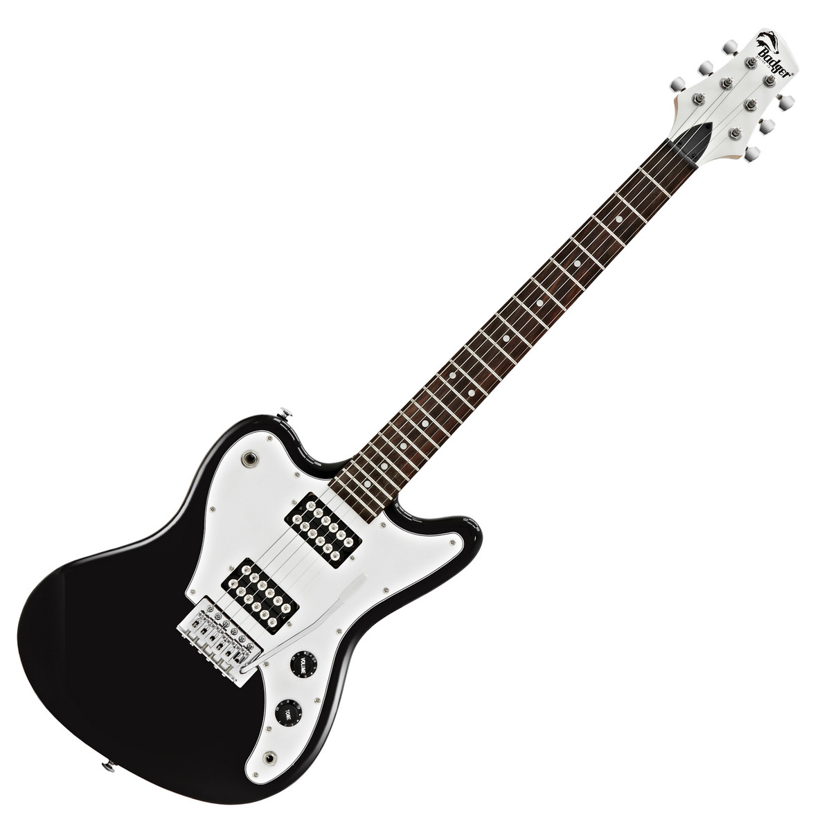 badger electric guitar black at. Black Bedroom Furniture Sets. Home Design Ideas