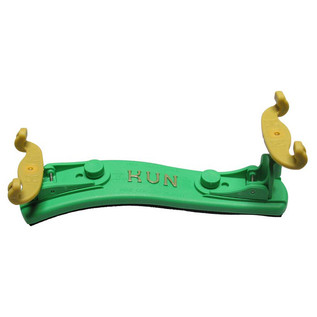 Kun Collapsible Violin Shoulder Rest 1/4-1/8, Green