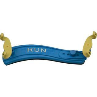 Kun Original Mini Violin Shoulder Rest, 1/4 - 1/8, Blue