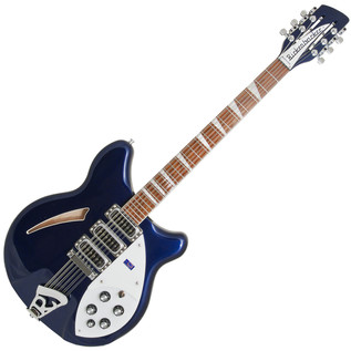 Rickenbacker 370/12 12 String Electric Guitar Midnight Blue