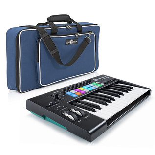 Novation LaunchKey 25 MK2 with Deluxe Keyboard Bag
