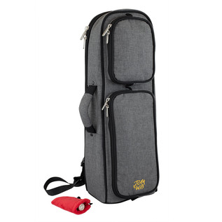 Tom and Will Trumpet Gig Bag, Smokey Grey and Black