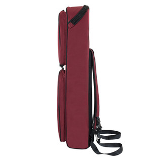 Tom and Will Straight Soprano Sax Gig Bag, Burgundy and Black Trim