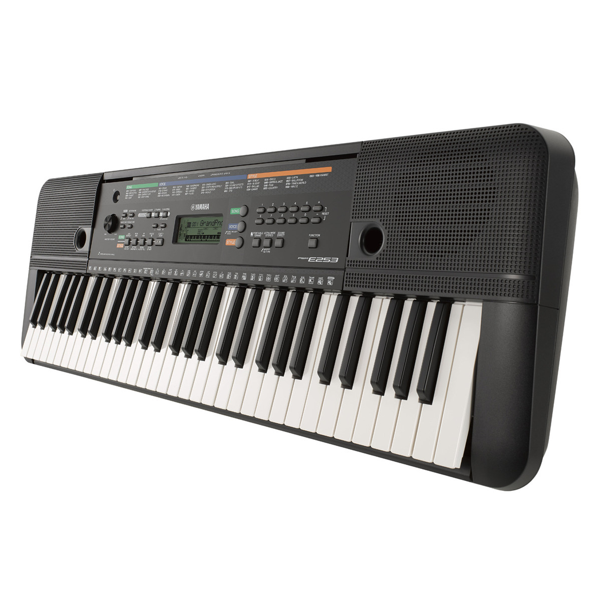 yamaha psr e253 portable keyboard at
