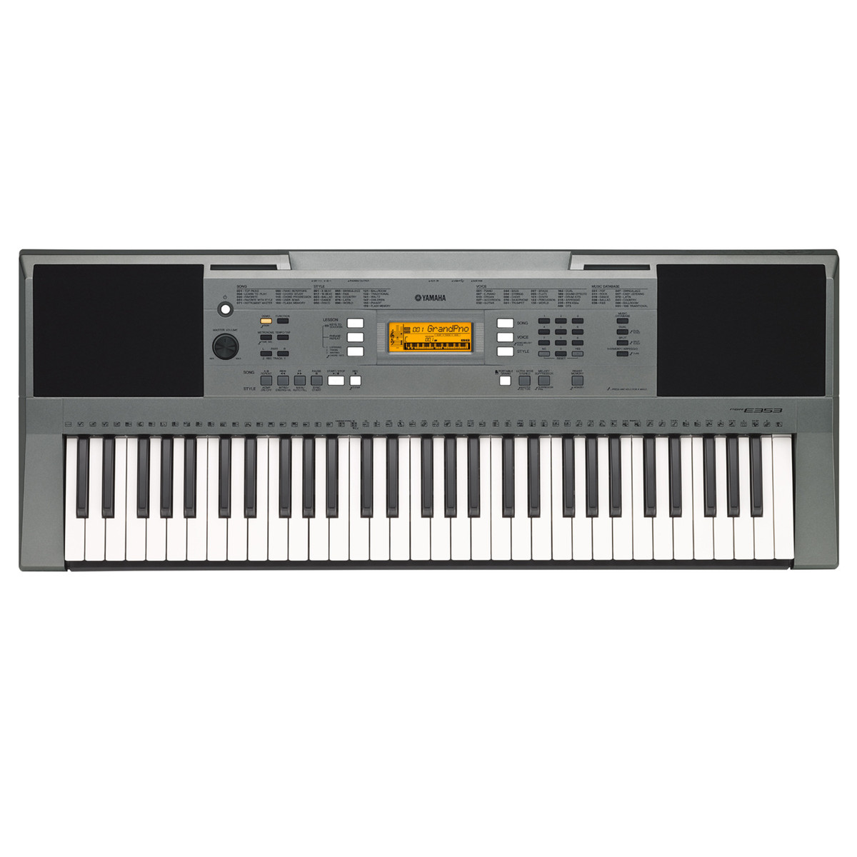 Yamaha psr e353 keyboard compare prices at foundem for Music keyboard yamaha price
