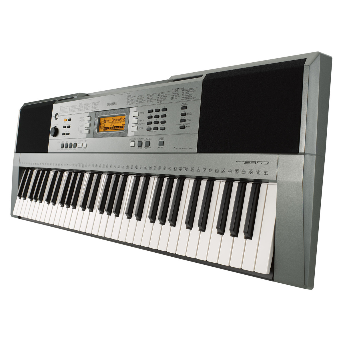 yamaha psr e353 portable keyboard at. Black Bedroom Furniture Sets. Home Design Ideas