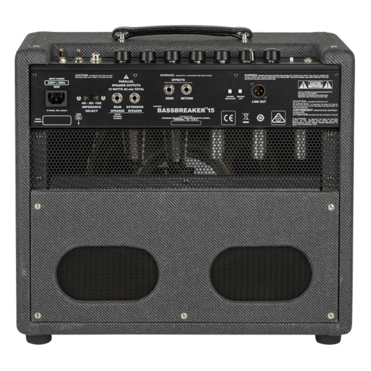 fender bassbreaker 15 combo at. Black Bedroom Furniture Sets. Home Design Ideas