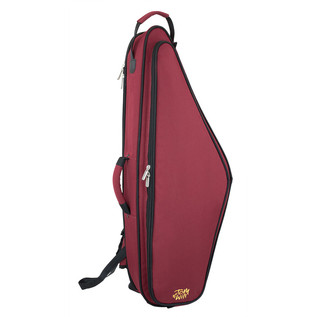 Tom and Will Tenor Saxophone Gig Bag, Burgundy with Black Trim