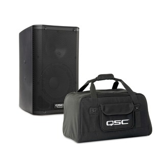 QSC K12 Active PA Speaker with Tote Carry Bag