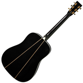 Martin D-35 Johnny Cash Acoustic Guitar, Black