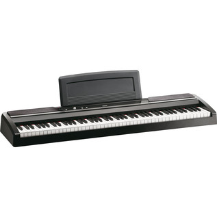 Korg SP-170S Compact Piano, Black with Stand