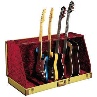 Fender Stage Seven Guitar Case Stand, Tweed