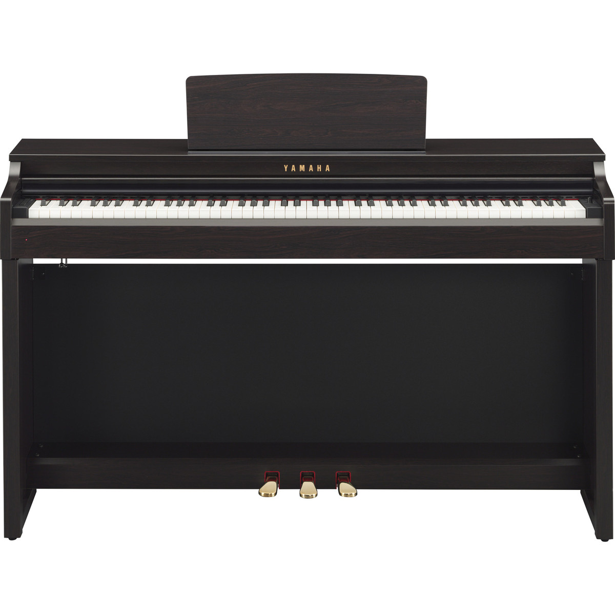 yamaha clavinova clp525 digital piano rosewood at. Black Bedroom Furniture Sets. Home Design Ideas