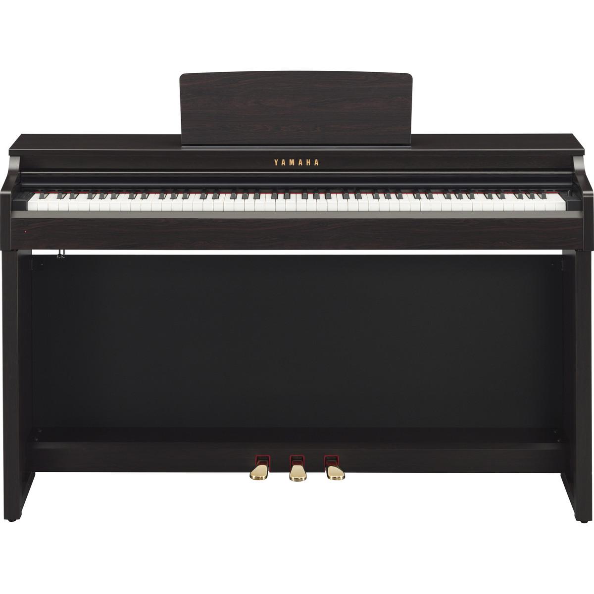 Yamaha clavinova clp525 digital piano rosewood at for Digital piano keyboard yamaha