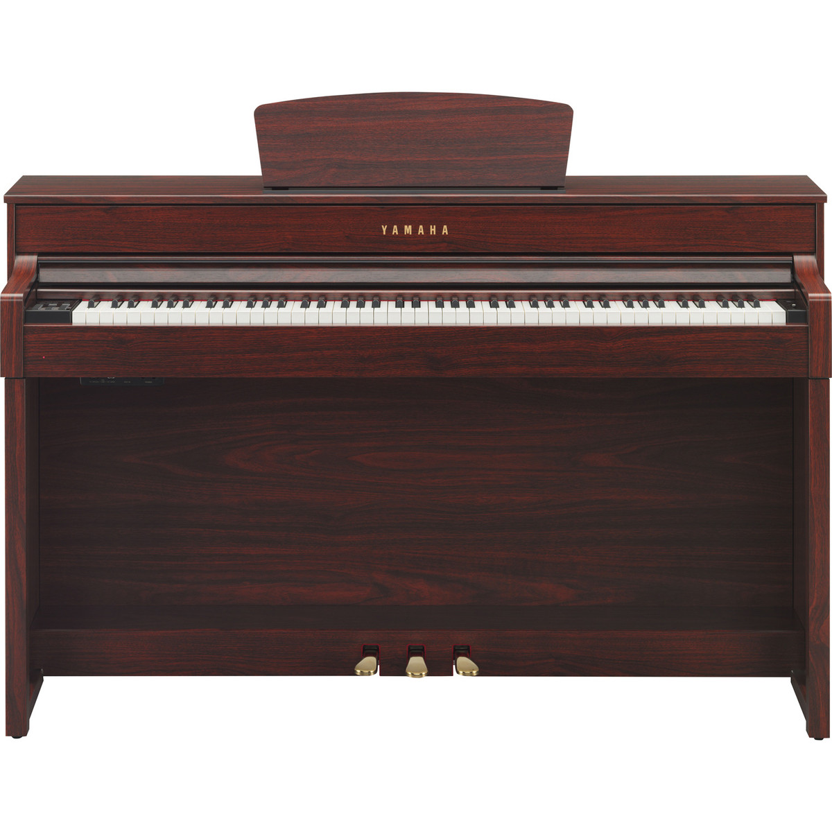 yamaha clavinova clp535 digital piano mahogany at. Black Bedroom Furniture Sets. Home Design Ideas