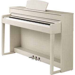 Yamaha Clavinova CLP535 Digital Piano, White Ash