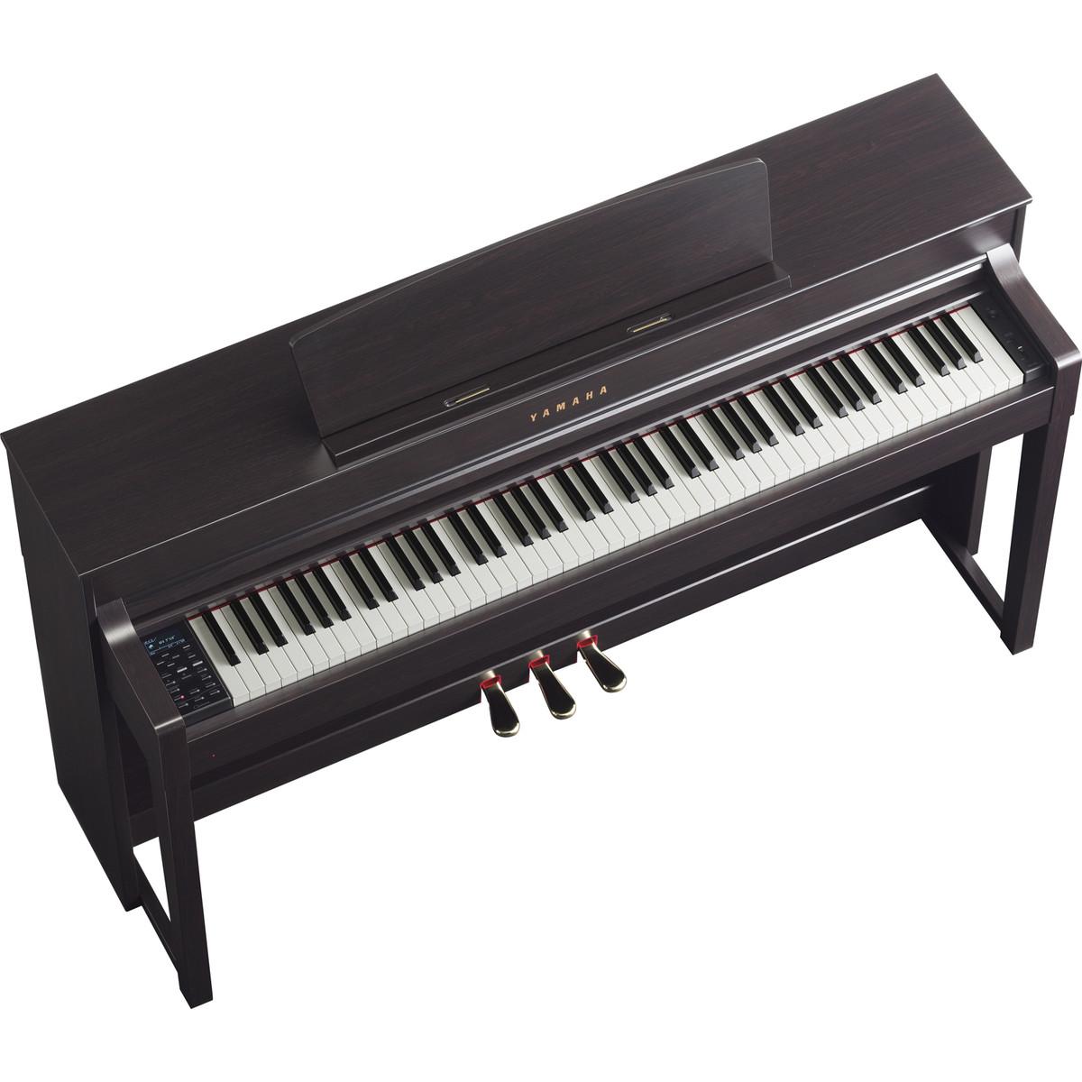 yamaha clavinova clp575 digital piano rosewood at. Black Bedroom Furniture Sets. Home Design Ideas