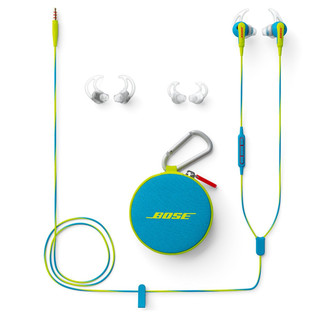 Bose SoundSport In-Ear headphones Neon Blue