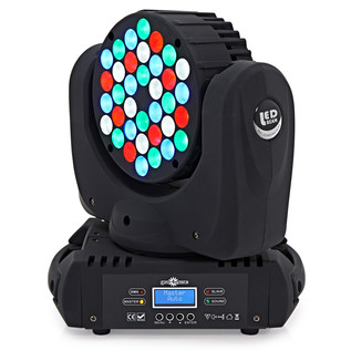 36 x 3 LED Moving Head Light by Gear4music