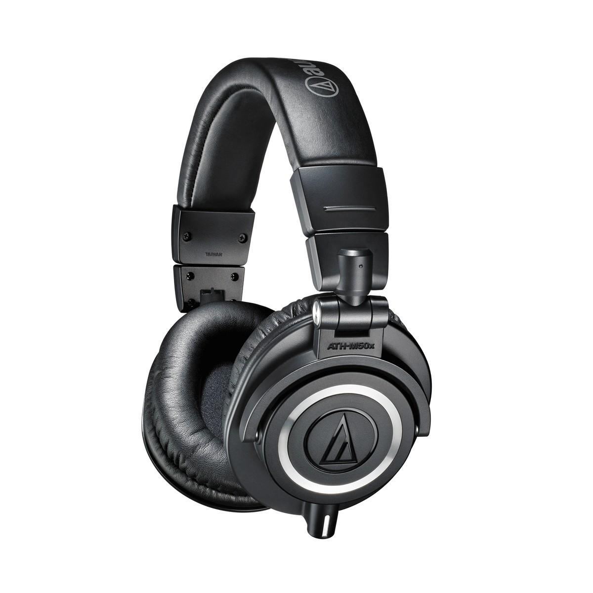 Image of Audio Technica ATH-M50x Professional Monitor Headphones Black