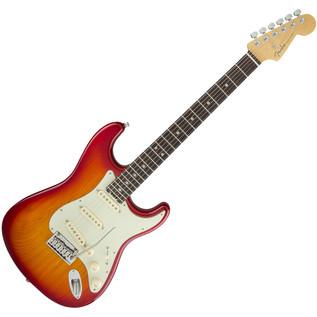 Fender American Elite Stratocaster, RW, Aged Cherry Burst