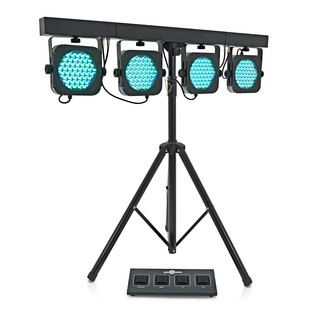 80w LED Par Set by Gear4music