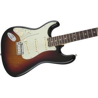 Fender American Elite Left-Handed Strat RW, 3 Colour Sunburst