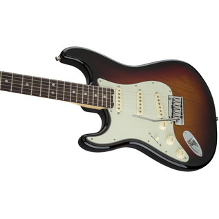 Fender American Elite Left-Handed Strat RW, 3 Colour Sunburst